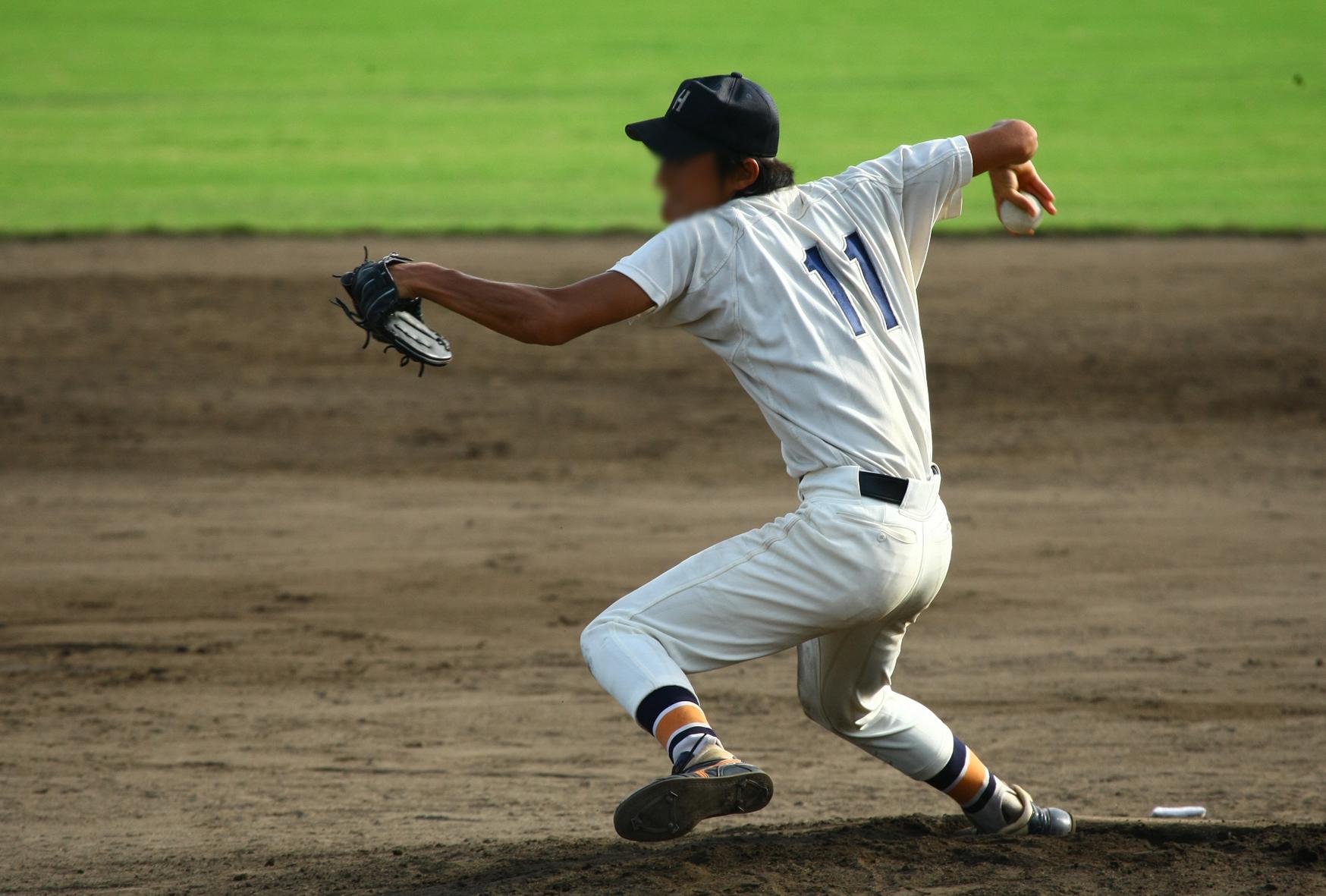 大学野球写真