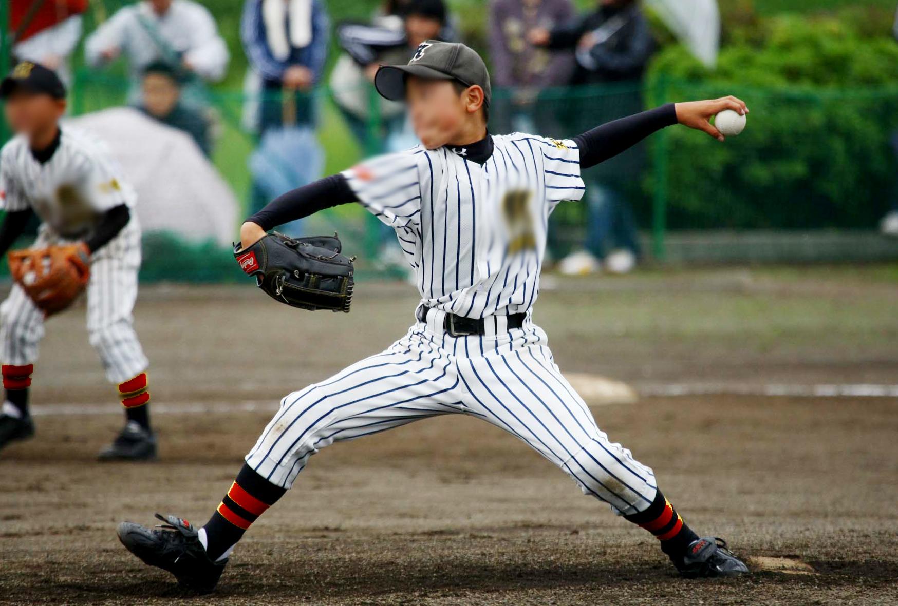 少年野球左腕